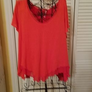 FREE PEOPLE TOP BLOUSE MEDIUM